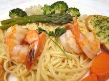 Italian Shrimp Platter Royalty Free Stock Photography