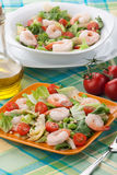 Italian Shrimp Salad Royalty Free Stock Images