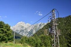 Italian Slovenian Border Area Royalty Free Stock Image