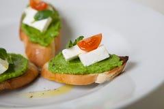 Italian snack bread Royalty Free Stock Photos
