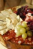 Italian snacks Stock Photography