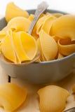 Italian snail lumaconi pasta Royalty Free Stock Photo
