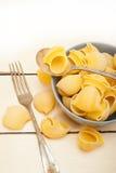 Italian snail lumaconi pasta Stock Image