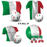 Italian Soccer Royalty Free Stock Photos