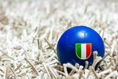 Italian soccer ball Stock Photo