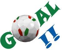 Italian soccer fan Royalty Free Stock Photos