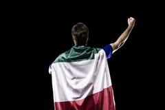 Italian soccer player Stock Photography