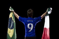 Italian soccer player Royalty Free Stock Image