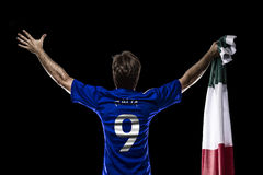 Italian soccer player Royalty Free Stock Images