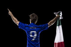 Italian soccer player Royalty Free Stock Photos