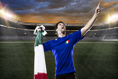 Italian soccer player Stock Image