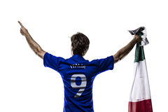 Italian soccer player Stock Photography