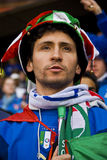 Italian Soccer Supporter - FIFA WC Royalty Free Stock Image