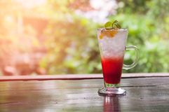 Italian soda drink Royalty Free Stock Images