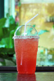 Italian soda strawberry Stock Photos