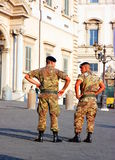 Italian Soldiers royalty free stock photos