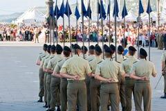 Italian Soldiers Stock Image