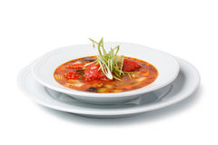 Italian soup Royalty Free Stock Photography