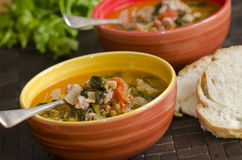 Italian soup Royalty Free Stock Photos