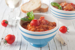 Italian soup Royalty Free Stock Photo