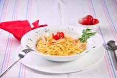 Italian spagetti Stock Image
