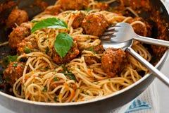 Italian spaghetti Royalty Free Stock Photos