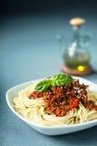 Italian spaghetti Bolognaise Stock Photo