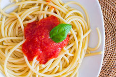 Italian spaghetti dish Stock Photos