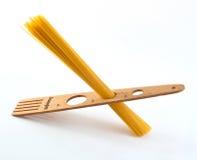 Italian spaghetti and dosa spaghetti Royalty Free Stock Photos