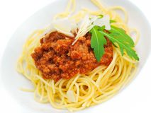 Italian spaghetti Stock Photos