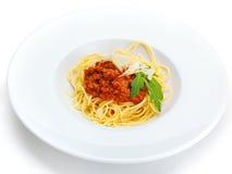 Italian spaghetti Royalty Free Stock Photography