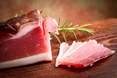 Italian speck Royalty Free Stock Photography
