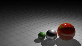 Italian spheres stock video footage