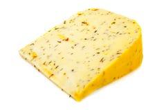 Italian spiced cheese Royalty Free Stock Photo