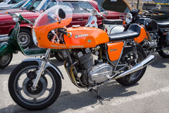 Italian sport bike Laverda 1000 Royalty Free Stock Photos