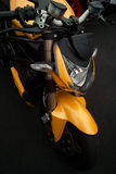 Italian sport motorbike Royalty Free Stock Photography