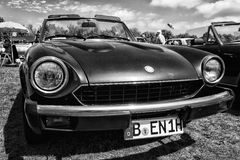 Italian sports car Fiat 124 Sport Spider Stock Photography