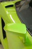 Italian sports car in green Stock Photos