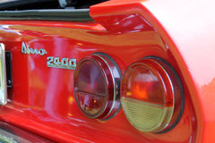 Italian sports car rear detail Stock Image