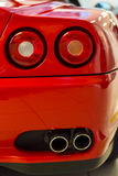 Italian sports car rear detail Stock Images