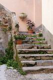Italian Stairway Royalty Free Stock Photo