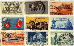 Italian stamps Stock Image
