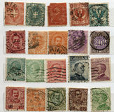 Italian Stamps Royalty Free Stock Images