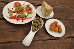 Italian starter Royalty Free Stock Photo