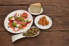 Italian starter Stock Images