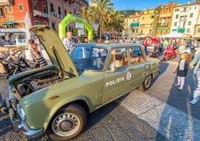 Italian State Police Flying Squad 1971 Alfa Giulia Super Royalty Free Stock Photos