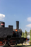 Italian steam locomotive Stock Photo