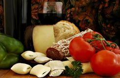 Italian Still Life Stock Photography