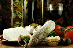 Italian Still Life Royalty Free Stock Photography