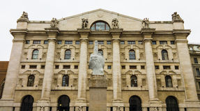 Italian stock exchange Stock Photo